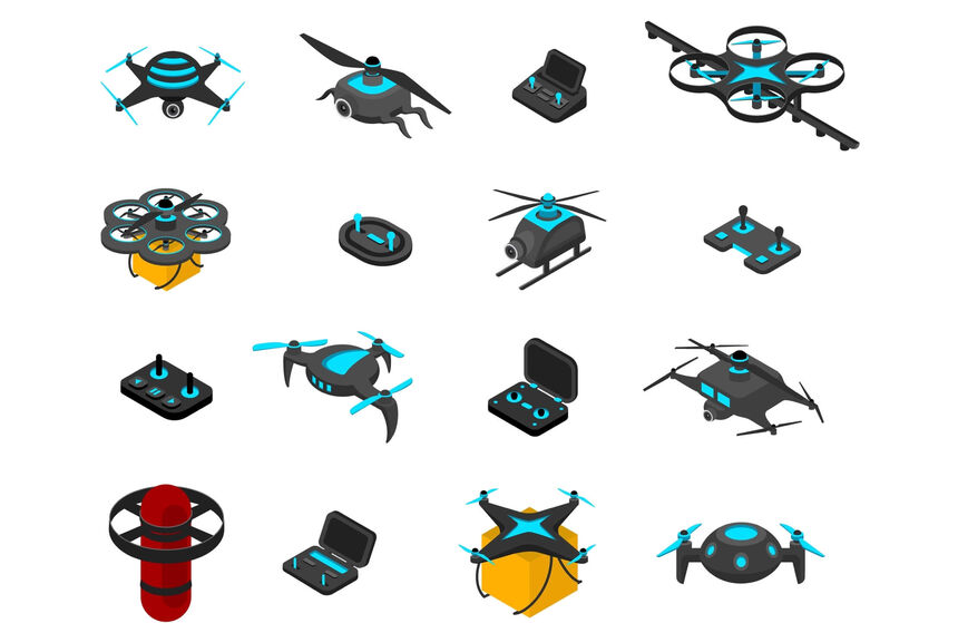 Types of drones available