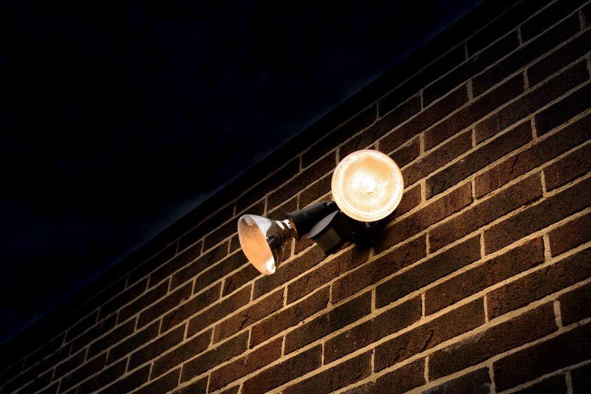 Motion detecting lights