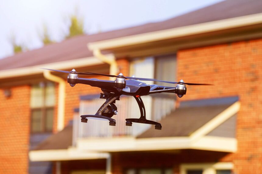 Drone security for your home
