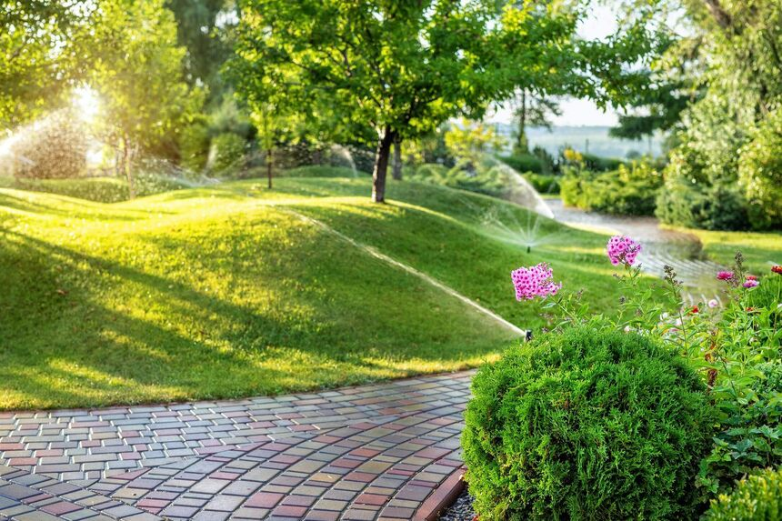 Smart sprinklers and home automation
