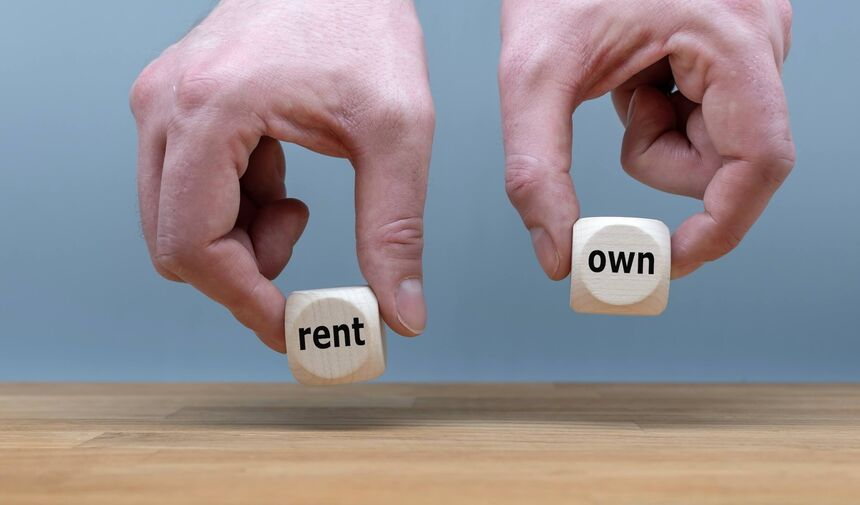 Overview home vs rent